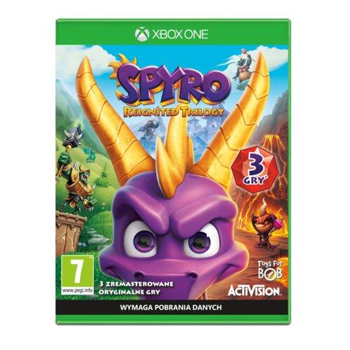 Spyro Reignited Trilogy Gra XBOX ONE (Kompatybilna z Xbox Series X)