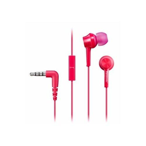 Słuchawki dokanałowe PANASONIC RP-TCM115E-P Różowy