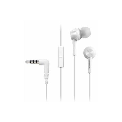Słuchawki dokanałowe PANASONIC RP-TCM115E-W Biały