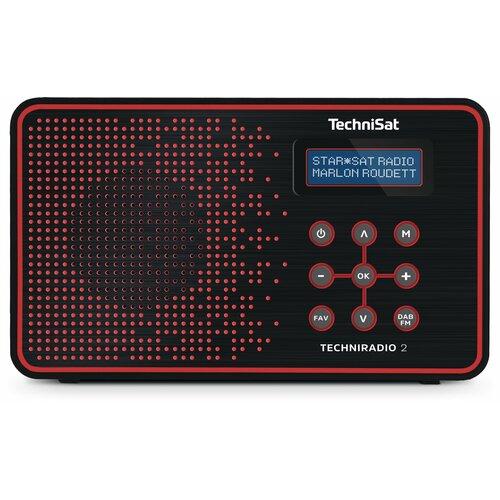 Radio TECHNISAT Techniradio 2 Czarno-czerwony