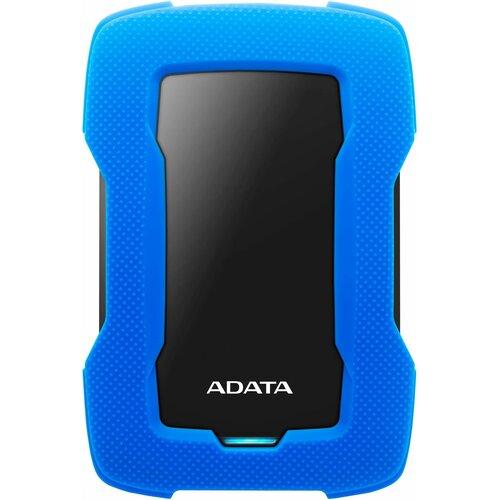 Dysk ADATA Durable Lite HD330 1TB HDD Niebieski