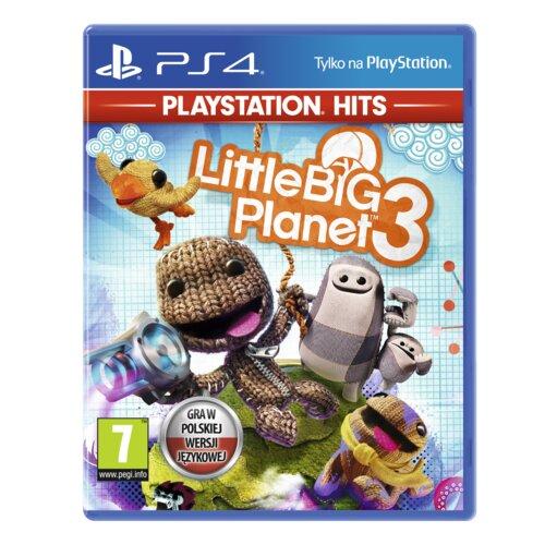 Little Big Planet 3 Gra PS4 (Kompatybilna z PS5)