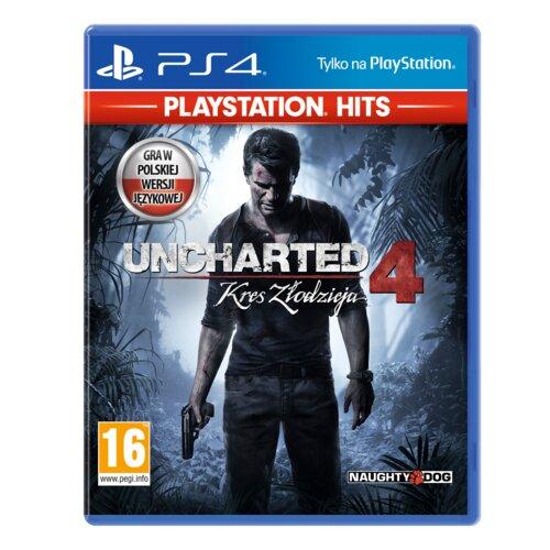 Uncharted 4: Kres Złodzieja Gra PS4 (Kompatybilna z PS5)
