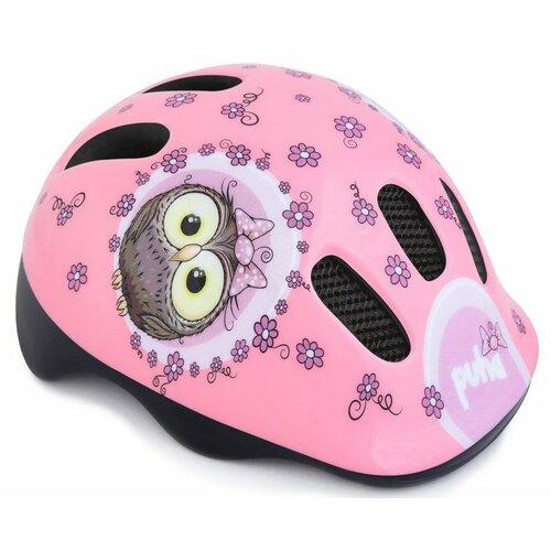 Kask rowerowy SPOKEY Sweety Puha Różowy dla Dzieci (rozmiar S/L)