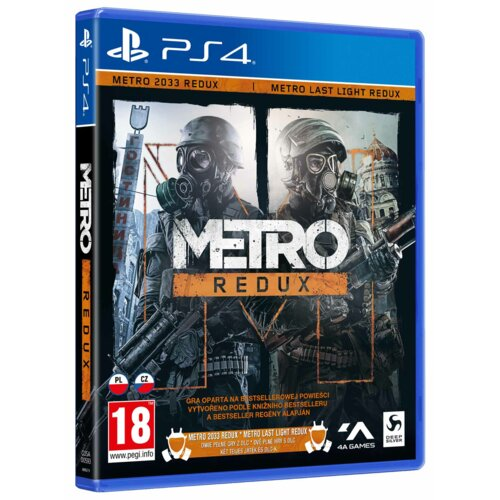Metro Redux Gra PS4 (Kompatybilna z PS5)