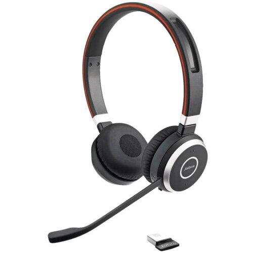 Słuchawki nauszne JABRA Evolve 65 UC Link 360 Czarny