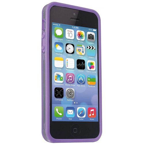 Etui MELICONI Bumper do Apple iPhone SE/5/5S Fioletowy