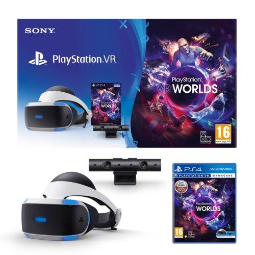 Gogle VR SONY PlayStation VR + Kamera + Gra VR Worlds