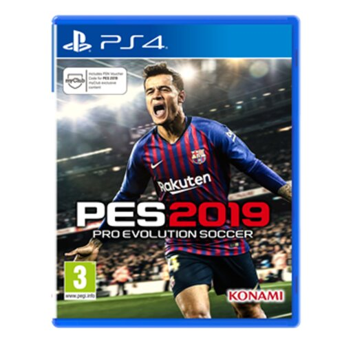 Pro Evolution Soccer 2019 Gra PS4 (Kompatybilna z PS5)