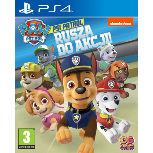 Psi Patrol: Rusza Do Akcji! Gra PS4 (Kompatybilna z PS5)