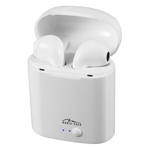 Słuchawki douszne MEDIA-TECH R-Phones TWS MT3589W Biały