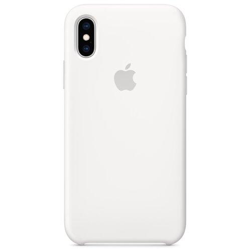 Etui APPLE Silikonowe do Apple iPhone Xs Max Biały