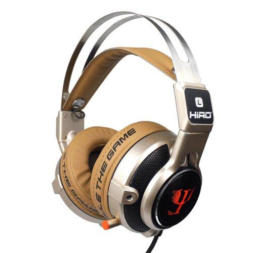 Słuchawki HIRO PSI Złoty