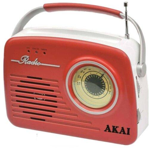 Radio AKAI APR-11R Czerwony