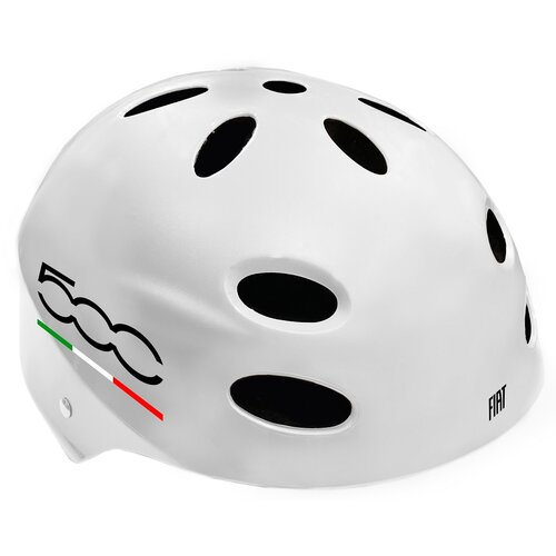 Kask rowerowy FIAT 500 Biały (rozmiar L-XL)