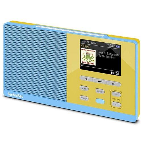 Radio TECHNISAT Digitradio Kira 1 Niebiesko-żółty