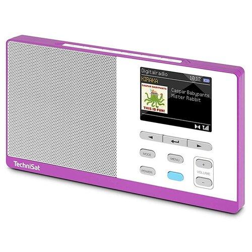 Radio TECHNISAT Digitradio Kira 1 Fioletowo-biały