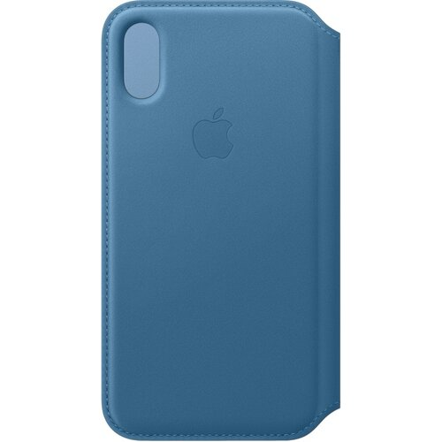 Etui APPLE do Apple iPhone Xs Niebieski