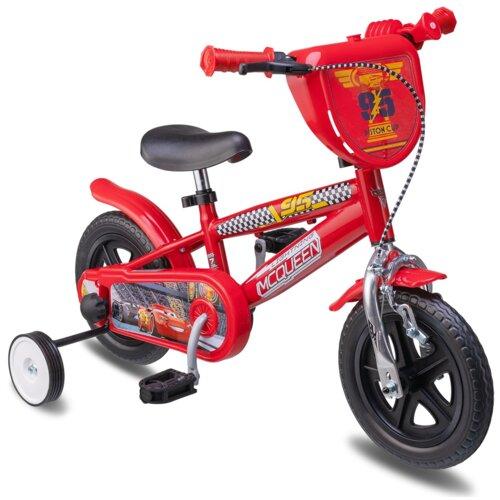 Rower dziecięcy DISNEY Auta 10 cali dla chłopca