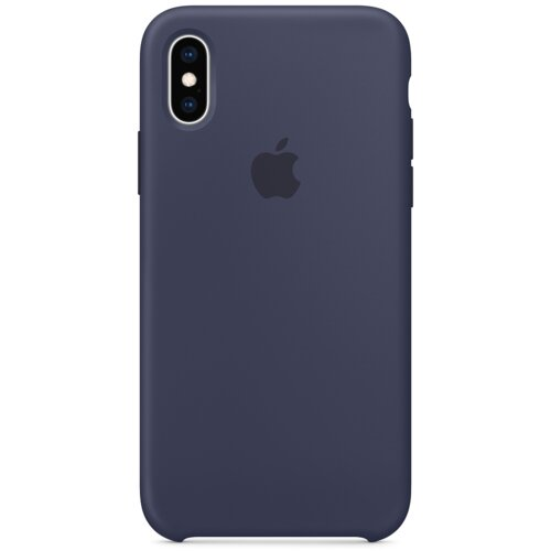 Etui APPLE Silikonowe do Apple iPhone Xs Granatowy