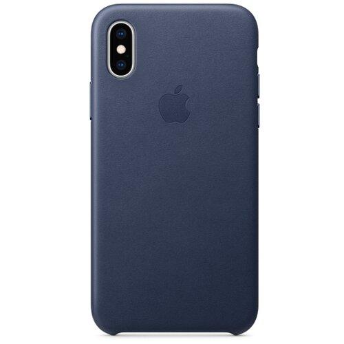 Etui APPLE do Apple iPhone Xs Granatowy