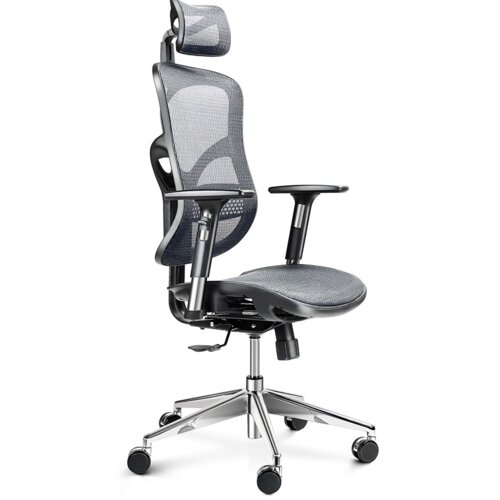 Fotel DIABLO CHAIRS V-Basic Czarno-szary