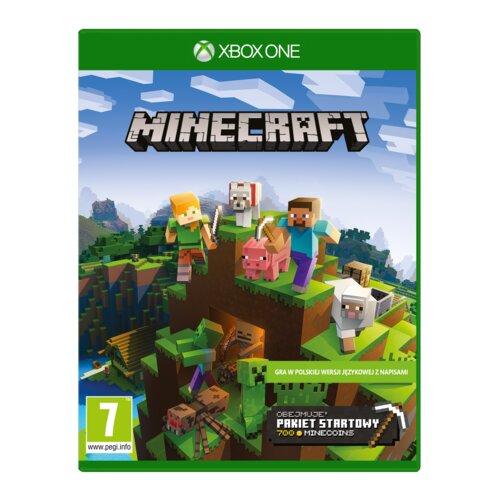 Minecraft Starter Collection Gra XBOX ONE (Kompatybilna z Xbox Series X)