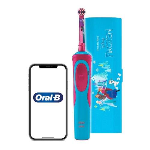 Szczoteczka rotacyjna ORAL-B Kids D12 Frozen + Etui