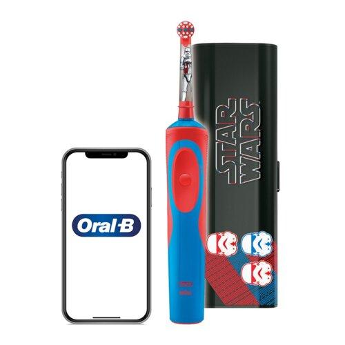 Szczoteczka rotacyjna ORAL-B Kids D12 Star Wars + Etui