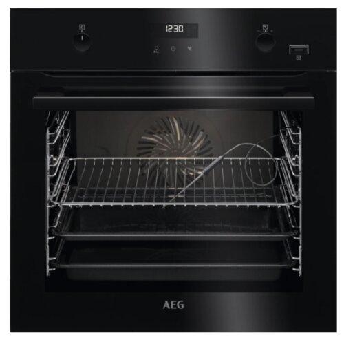 Piekarnik AEG BCE556350B Elektryczny parowy Czarny A+