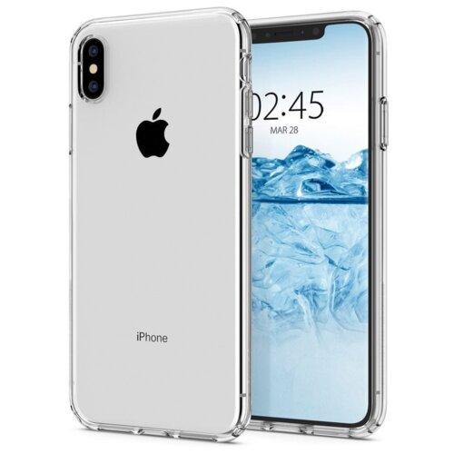 Etui SPIGEN Liquid Crystal do Apple iPhone X/Xs Przezroczysty