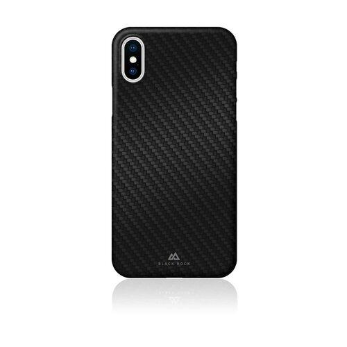 Etui BLACK ROCK Ultra Thin Iced do Apple iPhone Xs Czarny