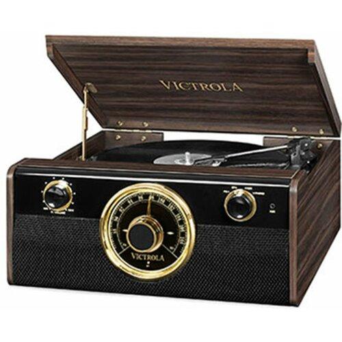 Gramofon VICTROLA RETRO VTA-240-MAHEU Ciemnobrązowy