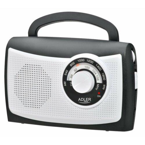 Radio ADLER AD 1155 Czarno-biały