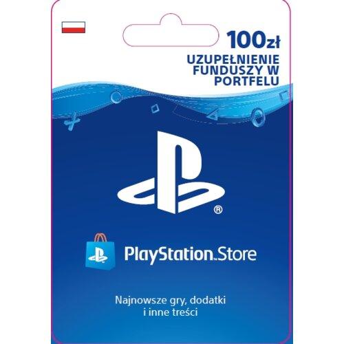 Kod aktywacyjny SONY PlayStation Network 100 zł