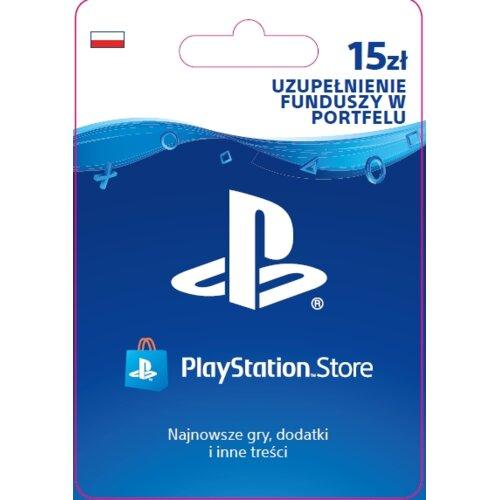 Kod aktywacyjny SONY PlayStation Network 15 zł