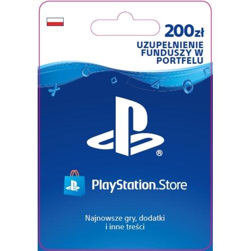 Kod aktywacyjny SONY PlayStation Network 200 zł