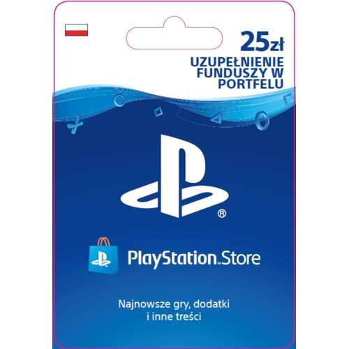 Kod aktywacyjny SONY PlayStation Network 25 zł