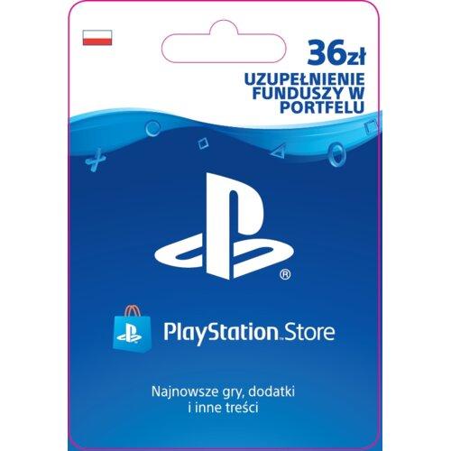 Kod aktywacyjny SONY PlayStation Network 36 zł