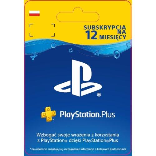Kod aktywacyjny SONY PlayStation Plus 12 miesięcy