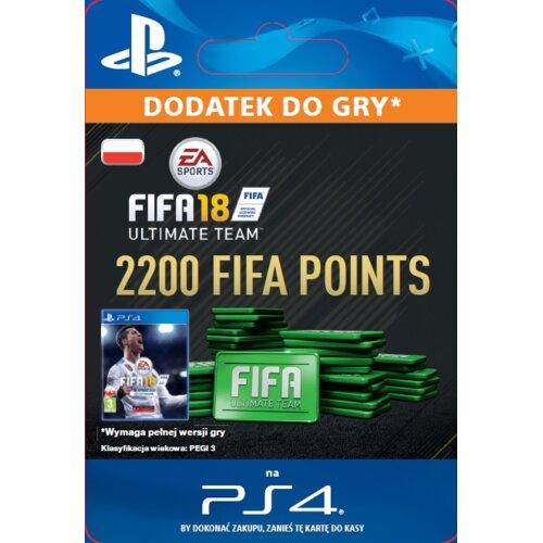 Kod aktywacyjny FIFA 18 Ultimate Team - 2200 punktów