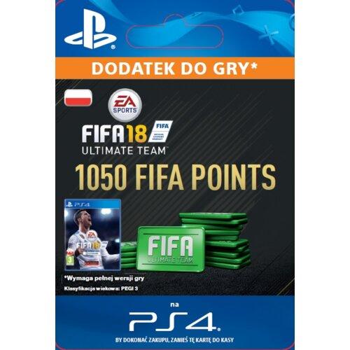 Kod aktywacyjny FIFA 18 Ultimate Team - 1050 punktów