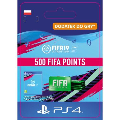 Kod aktywacyjny FIFA 19 Ultimate Team - 500 punktów