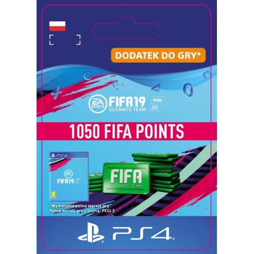 Kod aktywacyjny FIFA 19 Ultimate Team - 1050 punktów