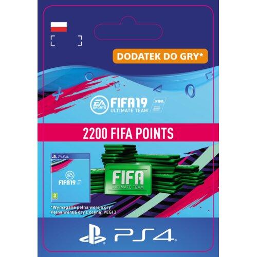 Kod aktywacyjny FIFA 19 Ultimate Team - 2200 punktów