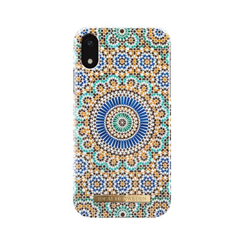 Etui IDEAL OF SWEDEN Fashion Case Moroccan Zelige do iPhone XR