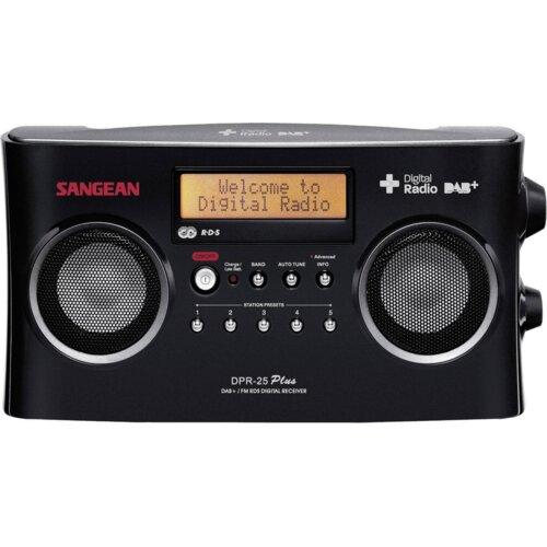 Radio SANGEAN DPR-25 Czarny
