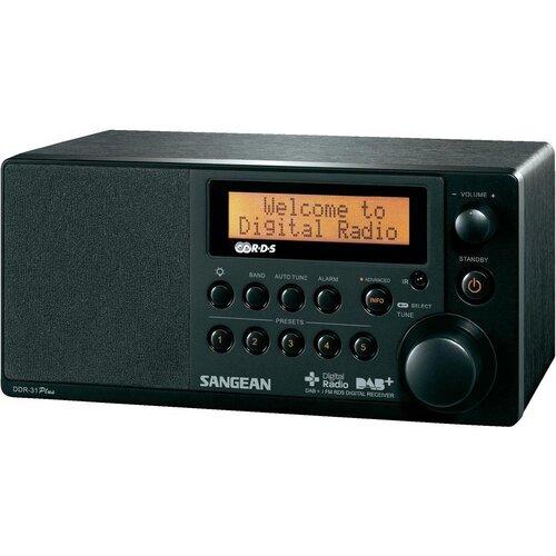 Radio SANGEAN DDR-31 Czarny