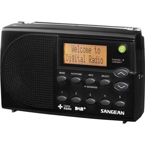 Radio SANGEAN DPR-65 Czarny