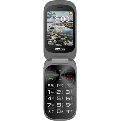 Telefon MAXCOM Comfort MM825 Czarny